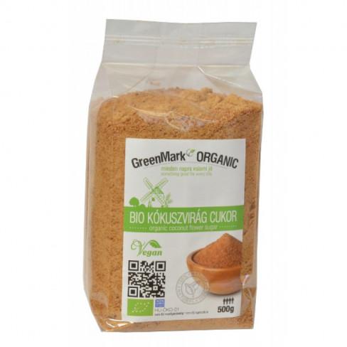 Greenmark bio kókuszvirág cukor 500g