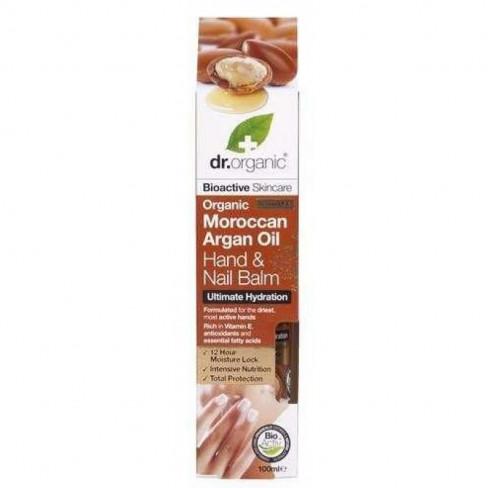 Dr.organic bio argán olaj kéz és körömápoló balzsam 100ml
